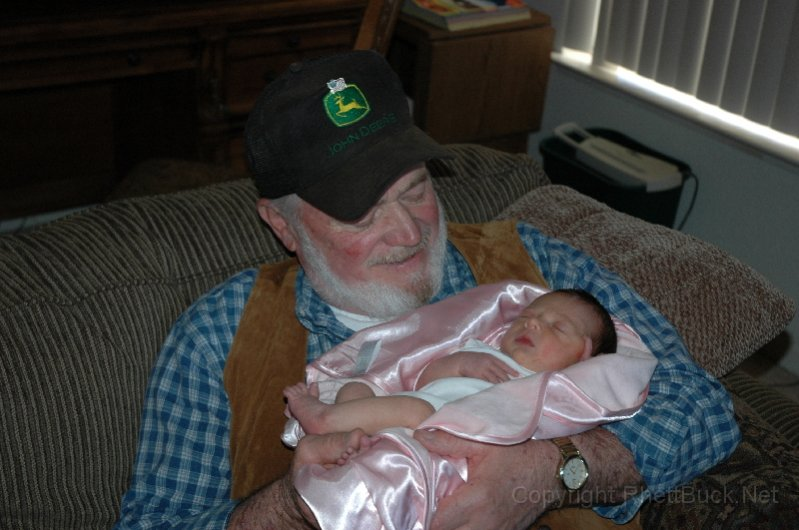 Grandpa and Hailey awwww