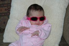 """Being """"cool"""" with the shades on"""