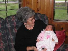 Aunt Pat and Hailey